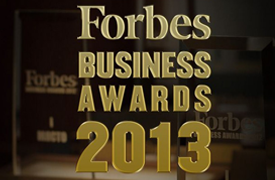 Forbes Business Awards 2013