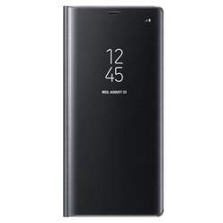 Калъф Clear View Standing Samsung Note8 Black