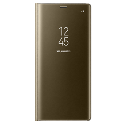 Калъф Clear View Standing Samsung Note8 Gold