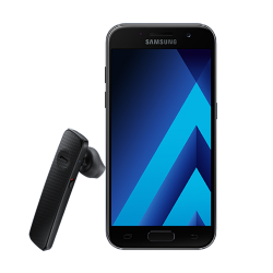 Samsung Galaxy A3 2017 + Bluetooth слушалка