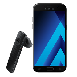 Samsung Galaxy A5 2017 + Bluetooth слушалка